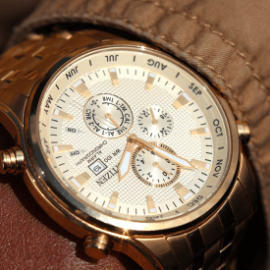 men chain watch